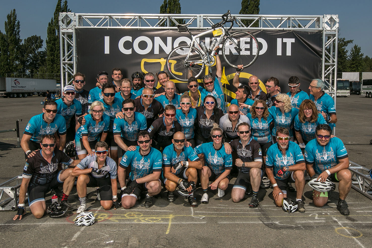 Ride to Conquer Group Photo