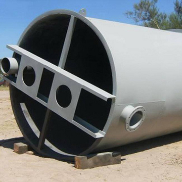 New process tanks for the El Gallo Mine expansion