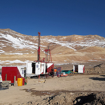 October 2012, drilling commences