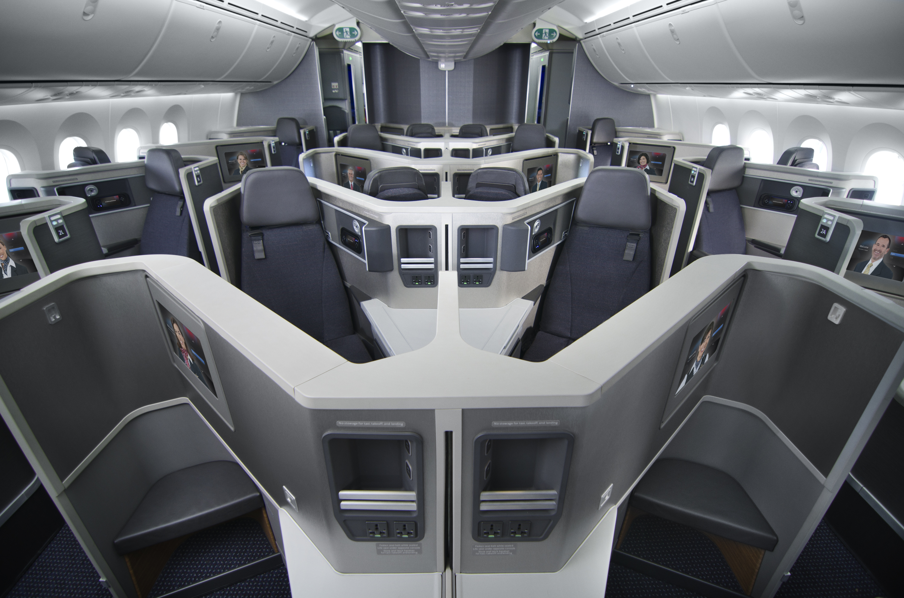 American Airlines Boeing 787-8 Business Class