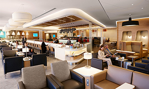 Flagship Lounge Expansive Seating