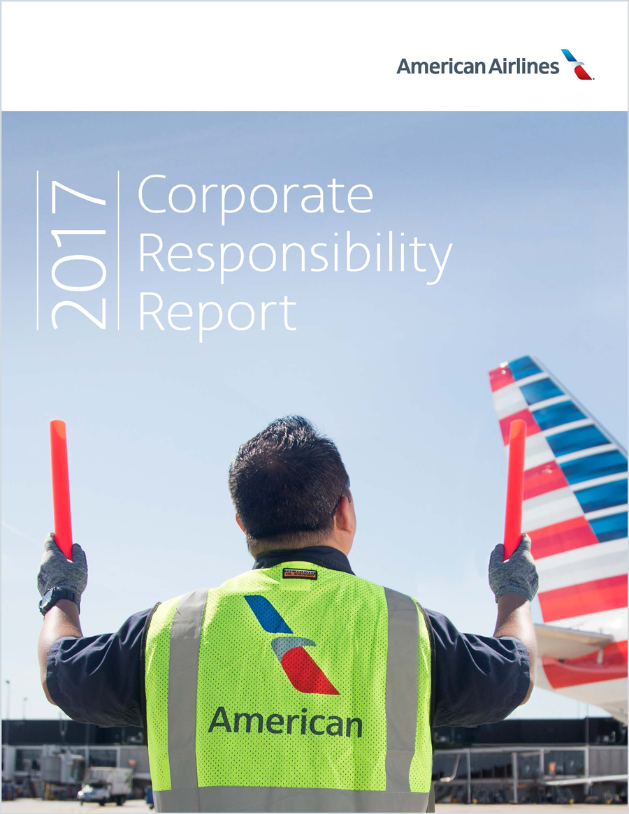 Newsroom American Airlines Publishes 2017 Corporate