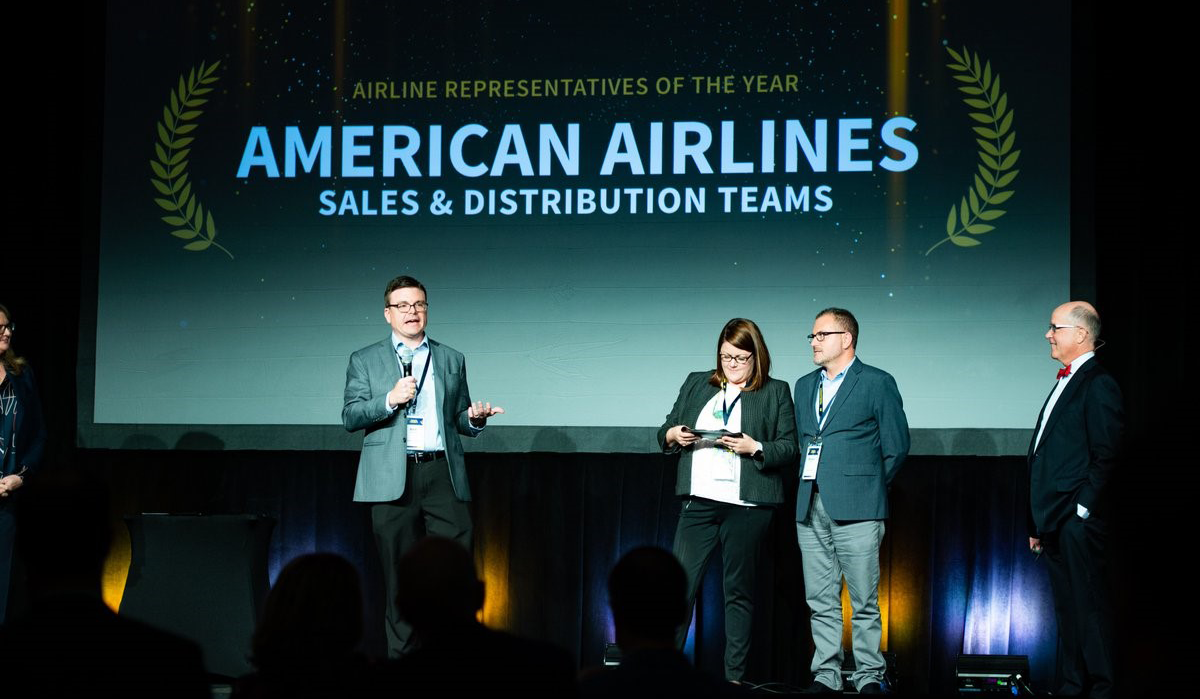 Newsroom Sales And Distribution Team At American Named Airline