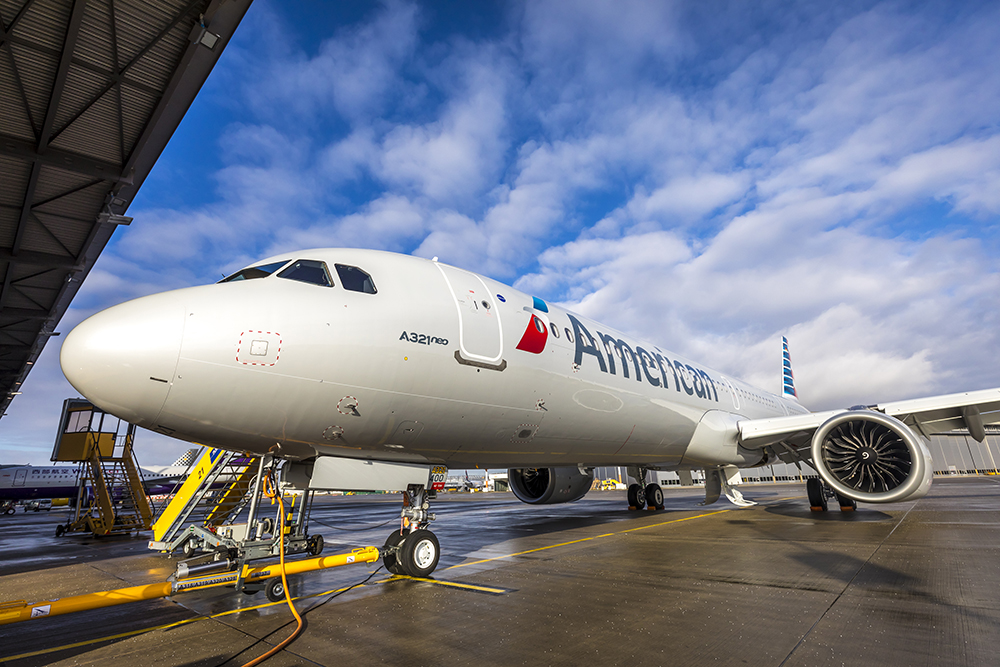 Image result for American Airlines A321neo MSN8647