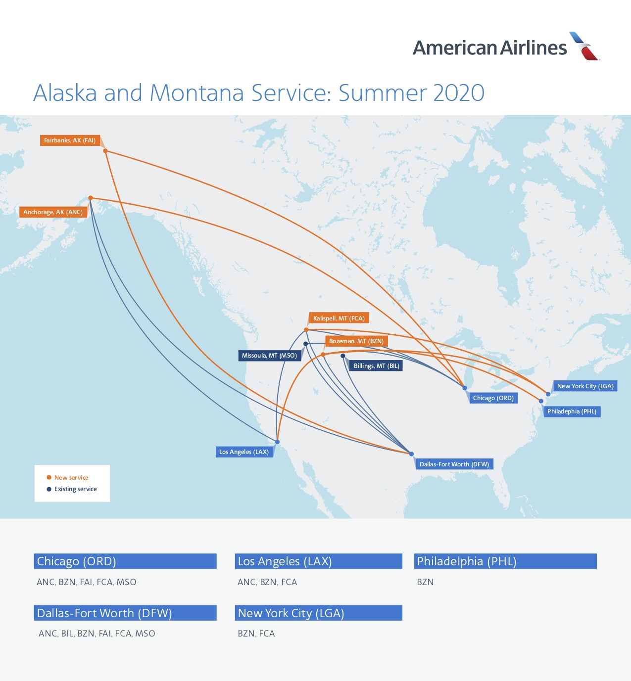 Newsroom American Airlines Adds More Capacity In Montana