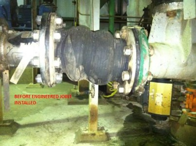 Curtiss Wright Nuclear Gypsum Slurry Piping Expansion