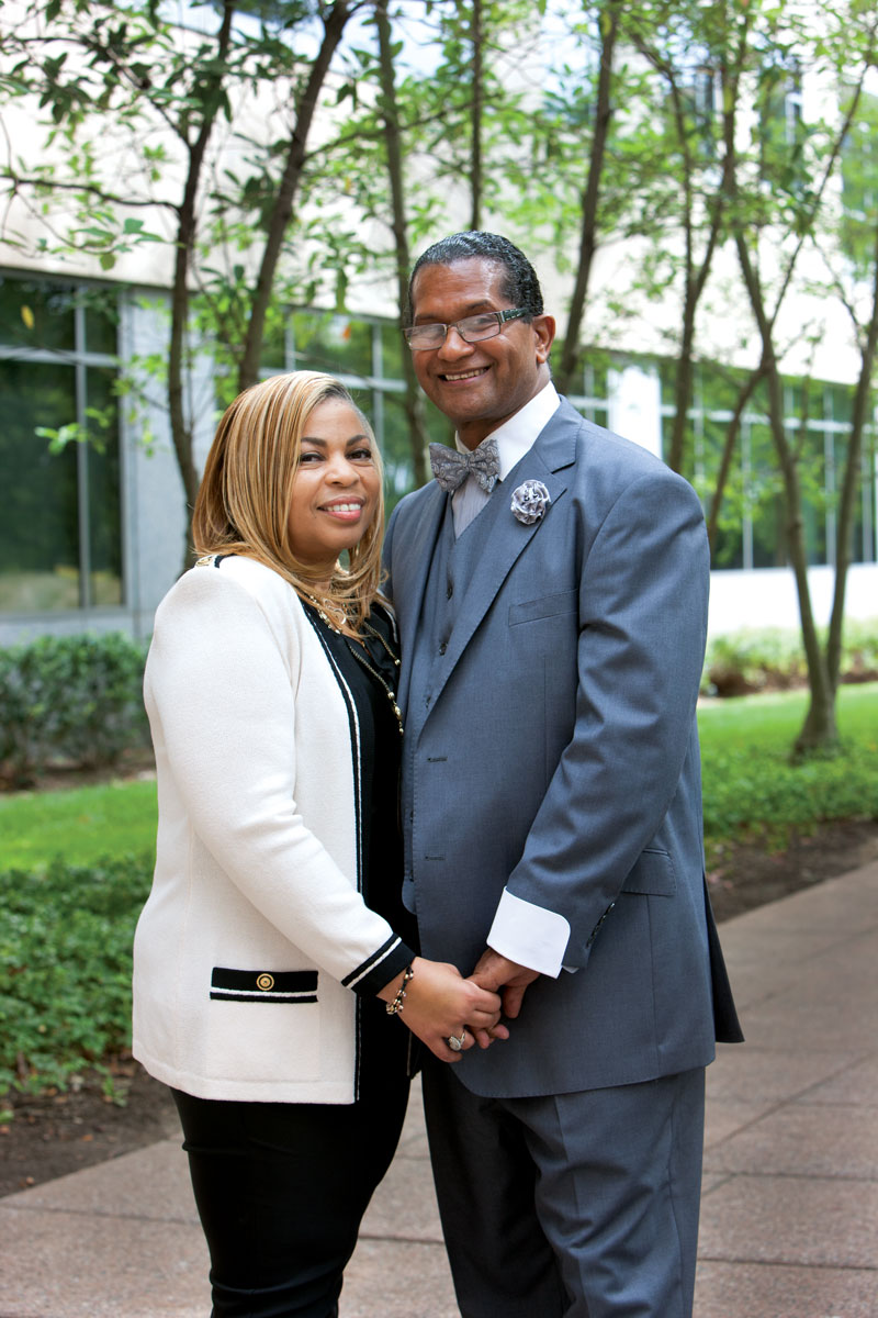 Robert and Lyndell Gholston visited Bristol-Myers Squibb to share Robert's story of participating in a clinical trial for Hepatitis C treatments.