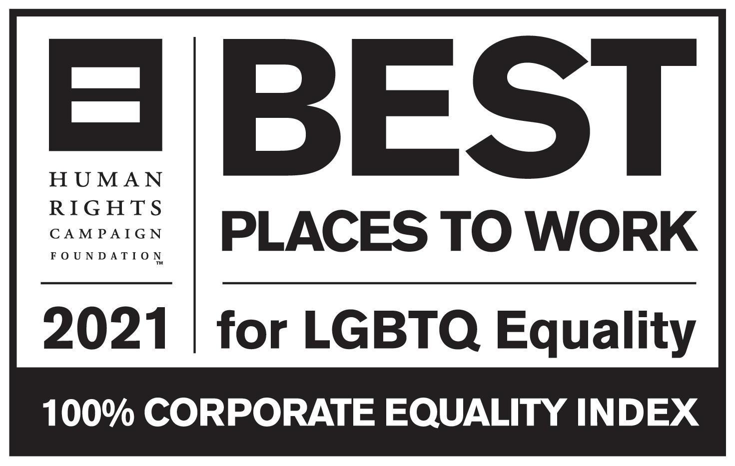 best place to work 2021 logo