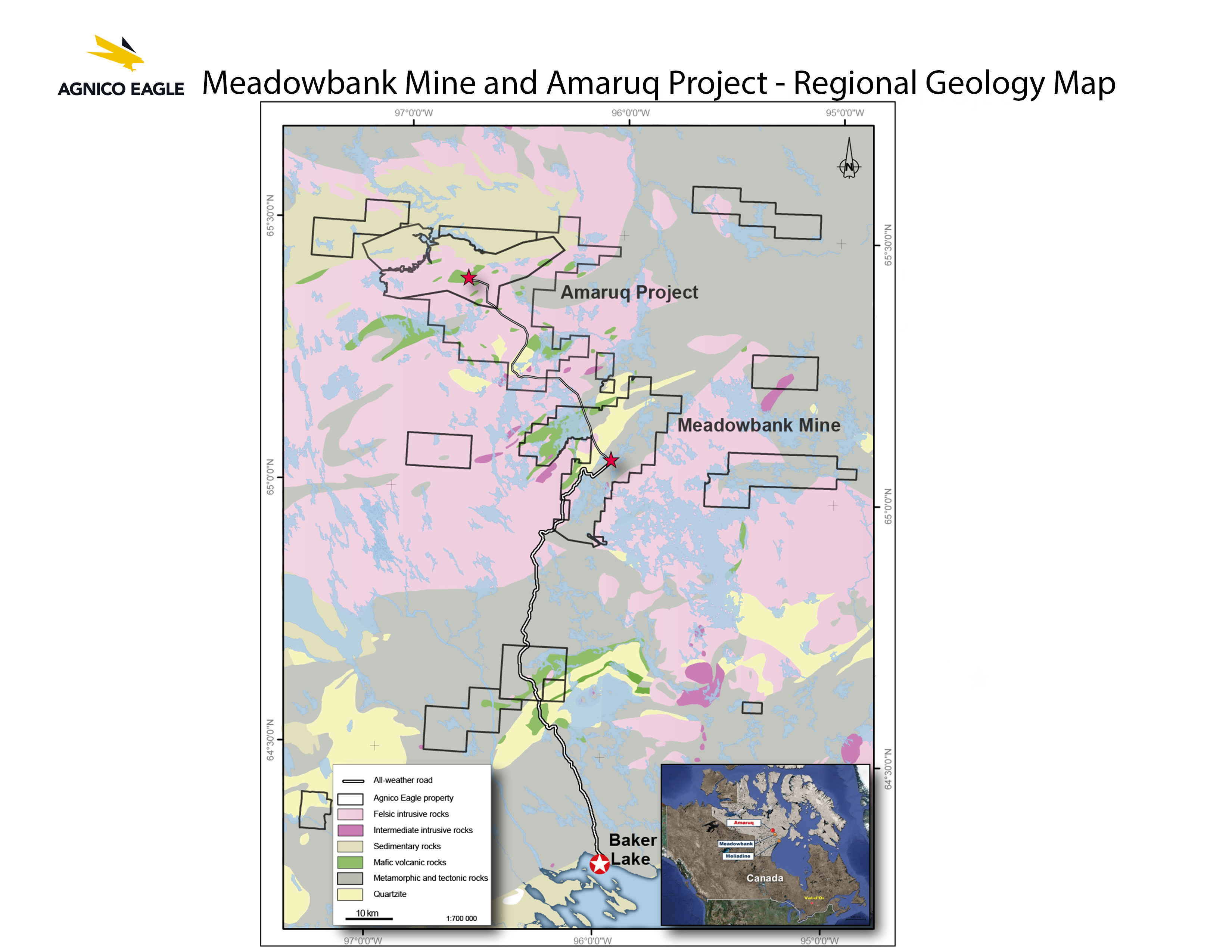 Agnico Eagle Mines Limited - Operations & Development Projects ... on