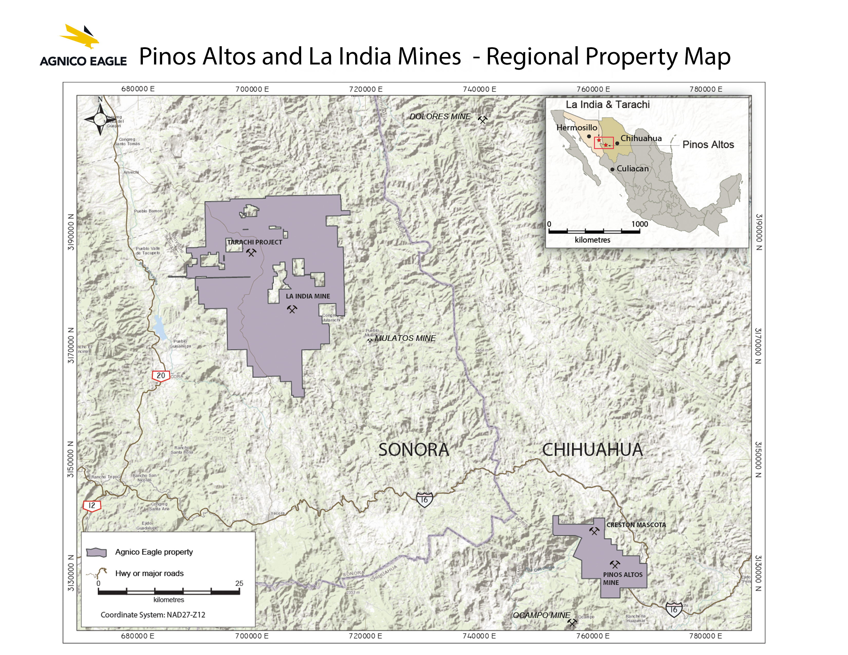 Geological Map Of India.Agnico Eagle Mines Limited Operations Development Projects