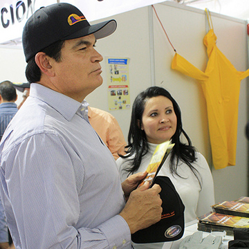 Mario Lopez, Sinaloa State Governor & Euridice Gonzalez, Country Manager, Mexico