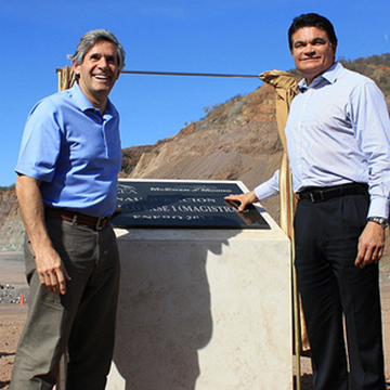 Rob McEwen & Mario Lopez, Governor of Sinaloa State