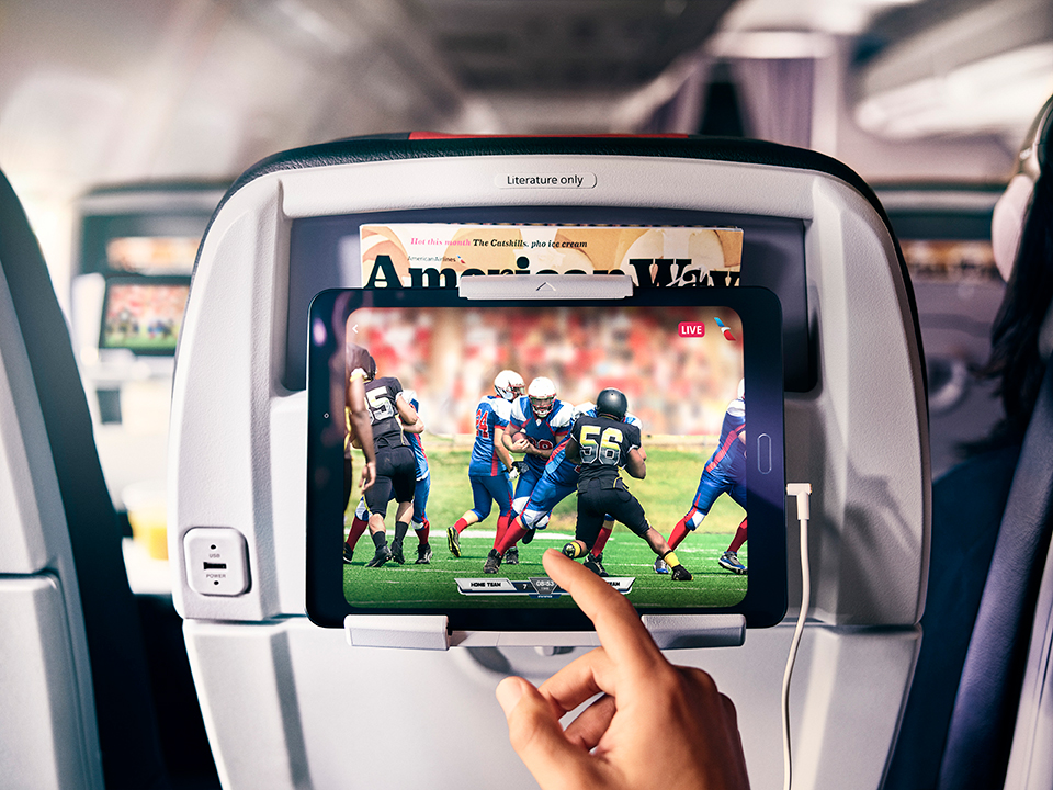 Watch this: American Airlines turns on free live TV for domestic flights