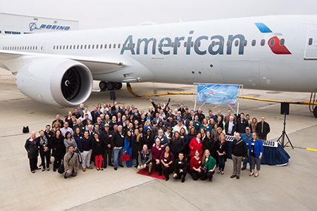 Newsroom - 787-9: American takes delivery of a plane in a class of