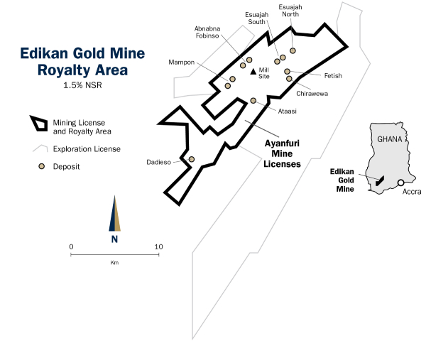 gold mine map