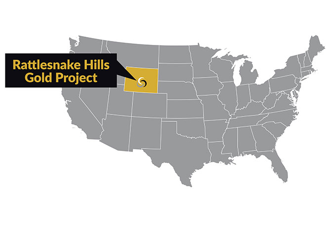 Rattlesnake Hills Gold Project   –   Wyoming, United States