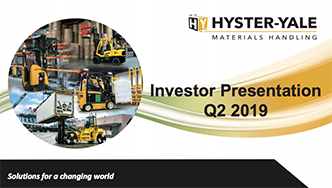 Hyster-Yale Materials Handling, Inc , Home