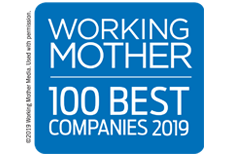 Working Mother 100 Best Companies logo