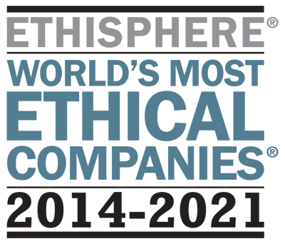 World's Most Ethical Companies logo