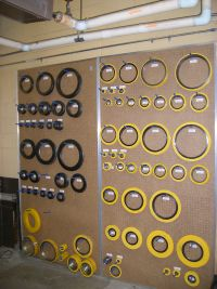assortment of spiral wound gaskets