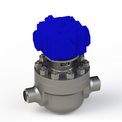 a cartridge ball valve with MOV