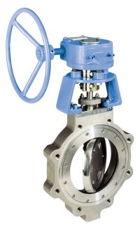 Jamesbury Metso High Performance Butterfly Valve with Hand Wheel