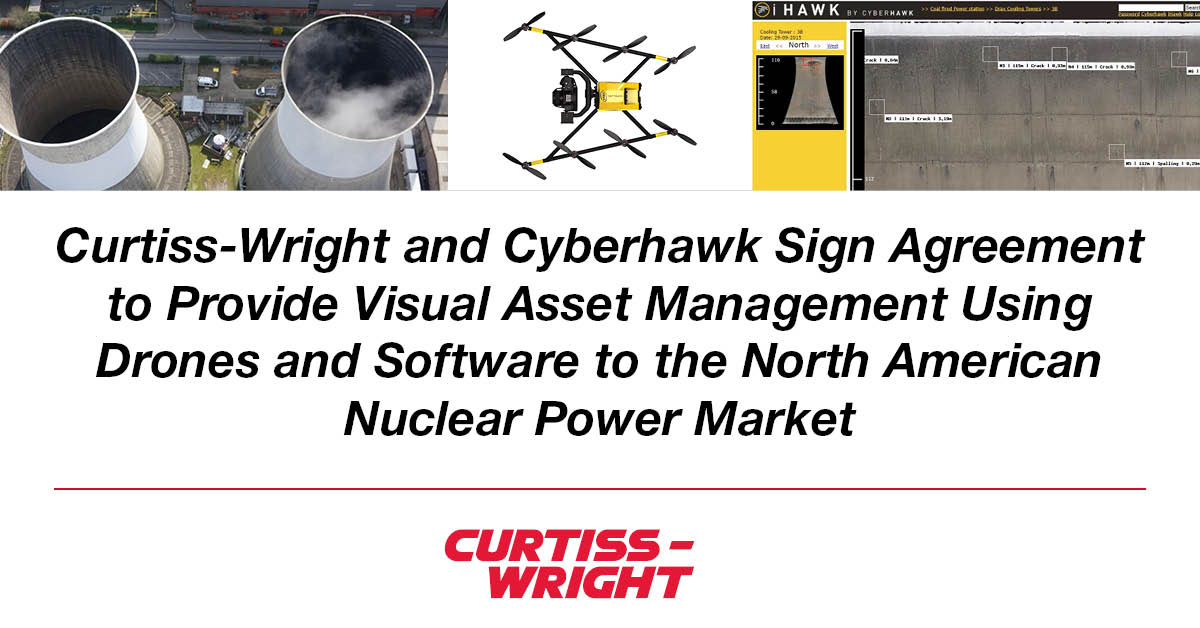 curtiss-wright and cyberhawk announcement