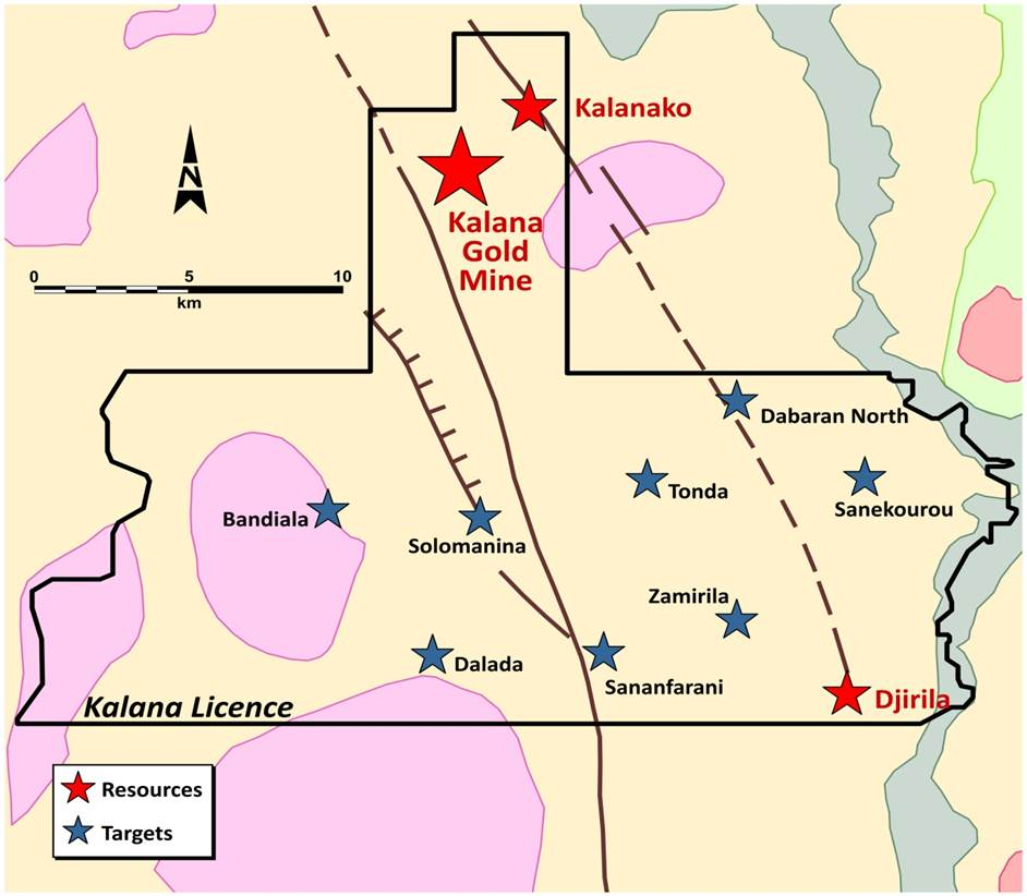 Mine Site Map Example: Endeavour Mining Corporation