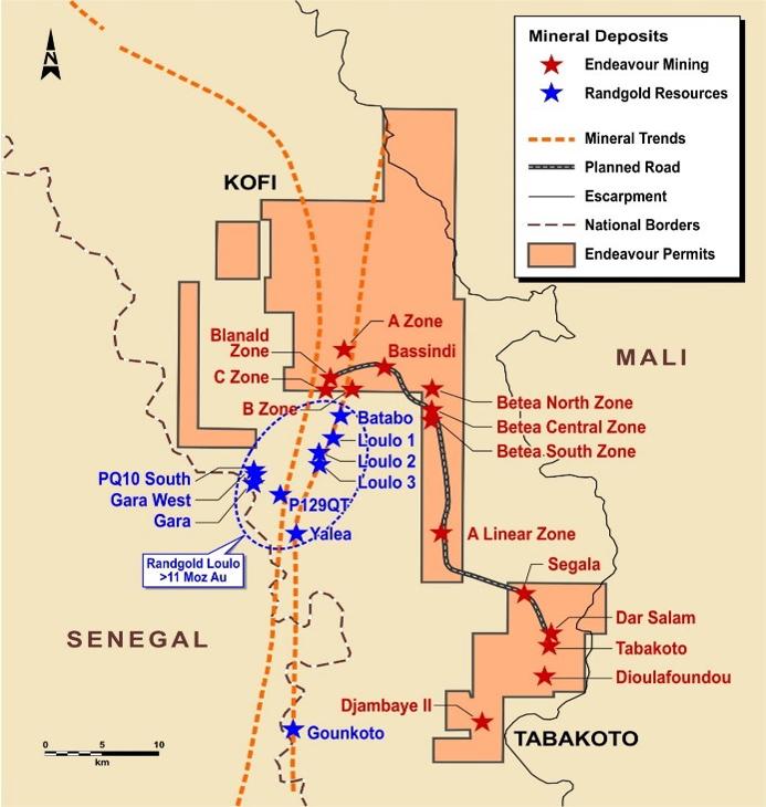 Endeavour Mining Corporation - Our Portfolio - Tabakoto Mine